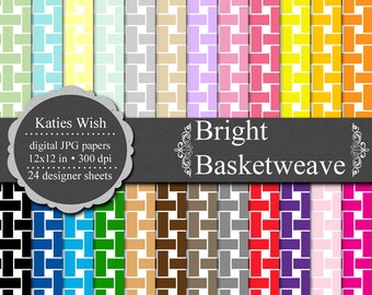 Bright Basketweave digital background Commercial Use Kit 12x12 inch  jpg files for Commercial Use
