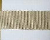 BEIGES WOVEN flat trim 2.5 inch ivory/beige