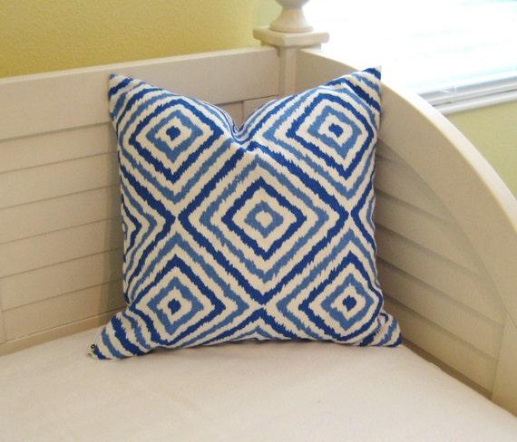 Jonathan Adler for Kravet - New - Electrify in Azure  Pillow Cover