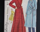 Vintage dressing gown pattern