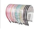 5mm (0.20inch) Metal Headband with Bent End - Cover up with Satin Ribbon