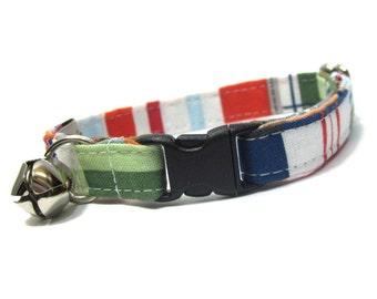 Nautical Cat Collar...Tommy Boy