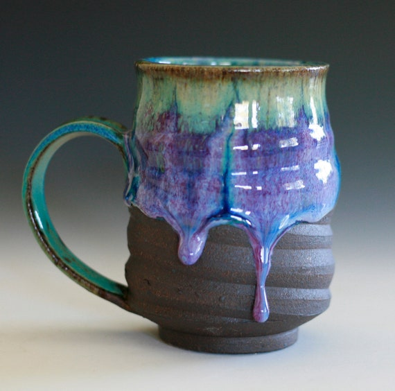 Coffee mug handmade ceramic cup coffee cup for Handmade mug designs