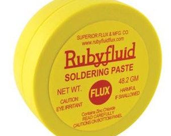 Ruby Fluid Soldering Flux