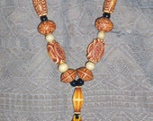 Pacific Islander Necklace and Earrings