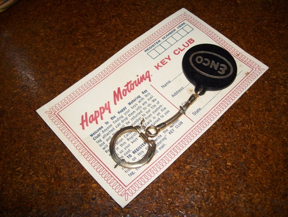 Enco Happy Motoring Key Club Key Chain