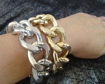 Brand New, Big Mama II, Thick Chunky Chain Bracelet
