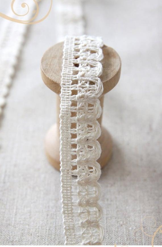 cotton torchon lace 1yard (width 1.6cm) 39456