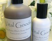 Dreadlock shampoo Patchouli Lavender shea butter black soap shampoo 12oz (VEGAN)
