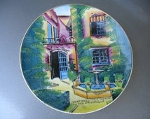 Vintage New Orleans Collectable Souvenir Plate