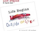 Life Begins Card Set