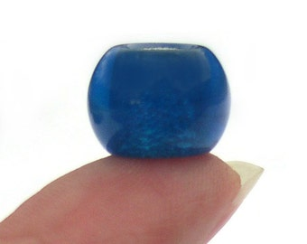 September Birthstone Large Hole Glass Bead