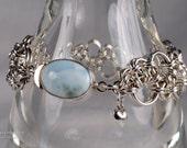 Sidewalk Hodo Weave Argentium Silver Chainmaille Bracelet