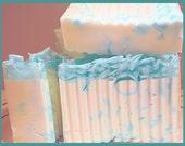 CLEAN COTTON Scented Handmade Natural Soap Bar 5 oz - Vegan