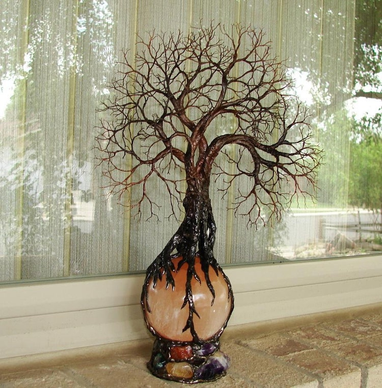 Wire Tree Of Life Ancient Grove Spirits Sculpture By