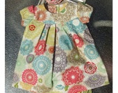 Anthropology Mulit-Color Floral Baby Newborn Toddler Child Dress Set