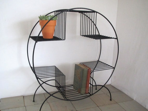Vintge Mid Century Modern Wire Plant Stand Wire Stand