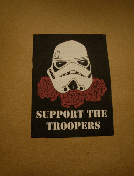 Support The Troopers Patch