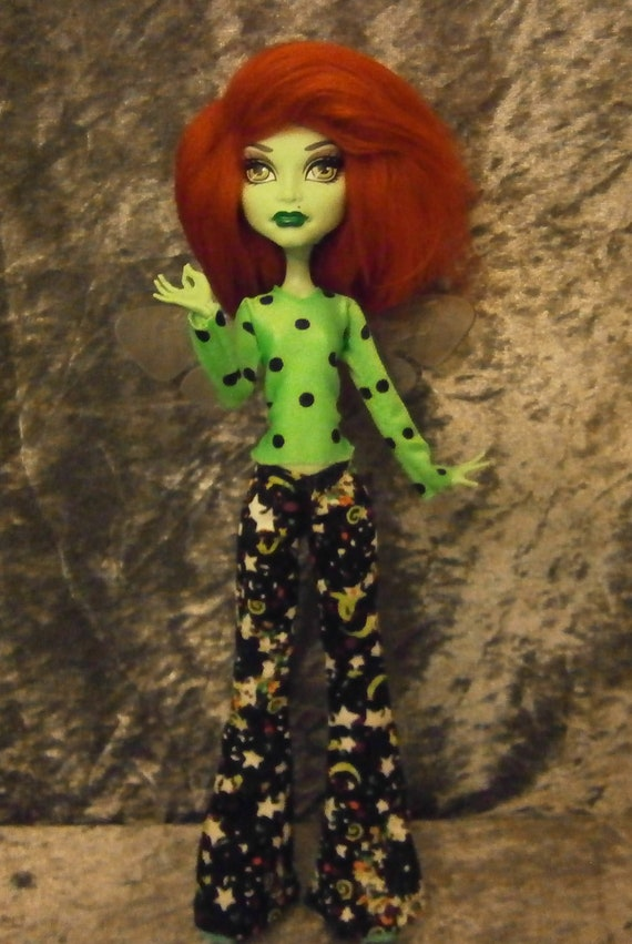 top and pants outfit for monster high dolls