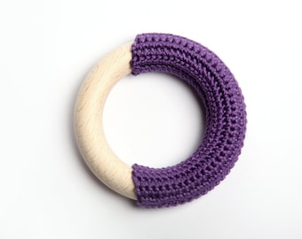 Violet teething ring / First Toy