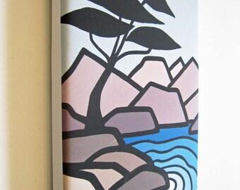 Arbutus Tree, West Coast Vancouver Canvas Print