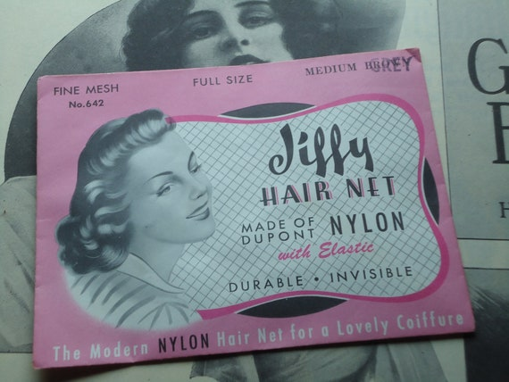 Vintage New Old Stock Jiffy Ladies Hair Net