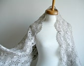 Beige Shawl,Christmas gift,   Fashion,   Mohair, Ready To Ship, Gift for Her, black friday sale