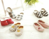 Woman Indoor Shoes/House Slippers (No.03) PDF Sewing Pattern, Size 5-11