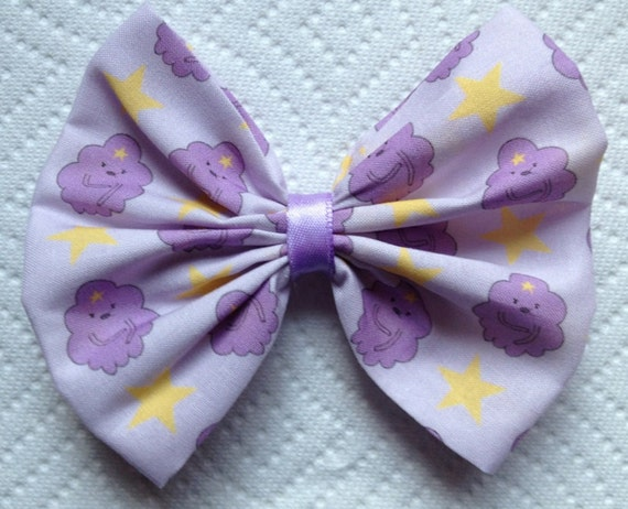 small Adventure time lumpy space princess bow