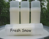 Fresh Snow Solid Lotion Bar Tube - Twist Up Tube - Scripture - John 3:16 - Christian