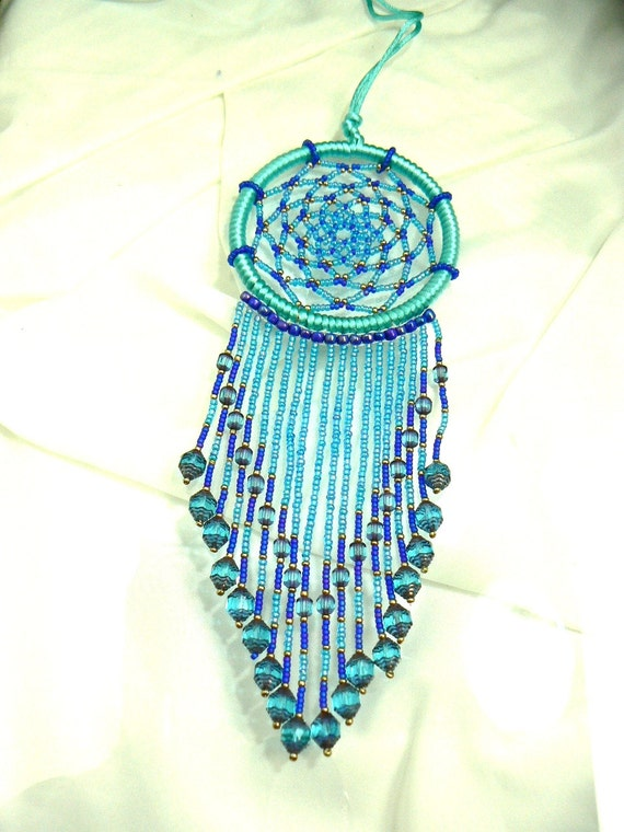 beaded catcher by winchestergems on etsy