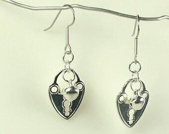 Bdsm Earrings Slave bell jewelry mature Discreet heart ringing bell dangle & Drop Earrings