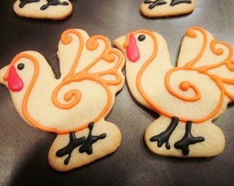 LOCAL order Thanksgiving Turkey Cookies