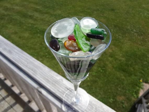 Prince Edward Island Hand Gathered Collection of Multicolored Beachglass