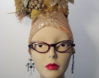 Vintage 1950s / 1960s Rhinestone Cat Eye Eyeglass Frames