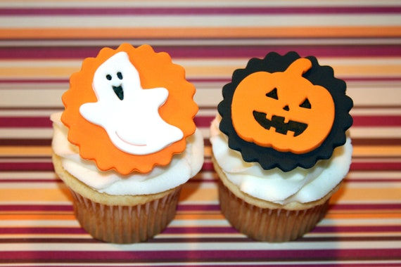 Halloween Cupcake Toppers Fondant to Fondant Cupcake Toppers