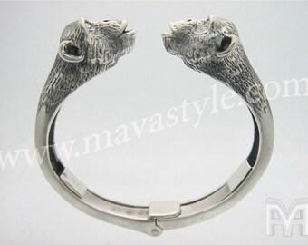 Sterling Silver Chimpanzee Bracelet