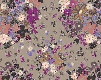 FEMME METALE STEEL  (rr-4509) - Rock 'n Romance - Art Gallery Fabrics - 1 yard