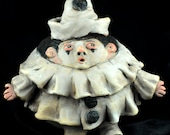 Pagliacci, Vintage Style Ornie or Small Sculpture