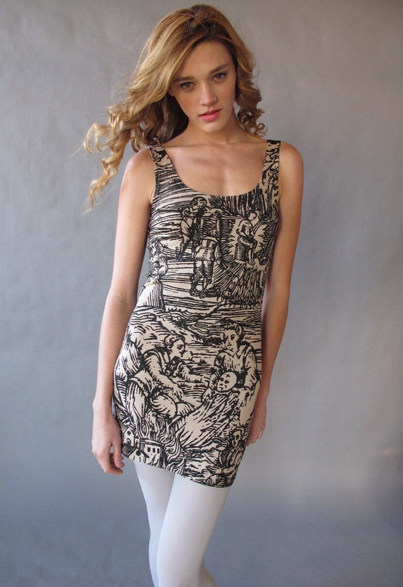 Witch Bandage Dress. L