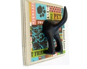 Dog Tail Leash Holder - Animal Lover - PatchWork Paws -  Personalize It