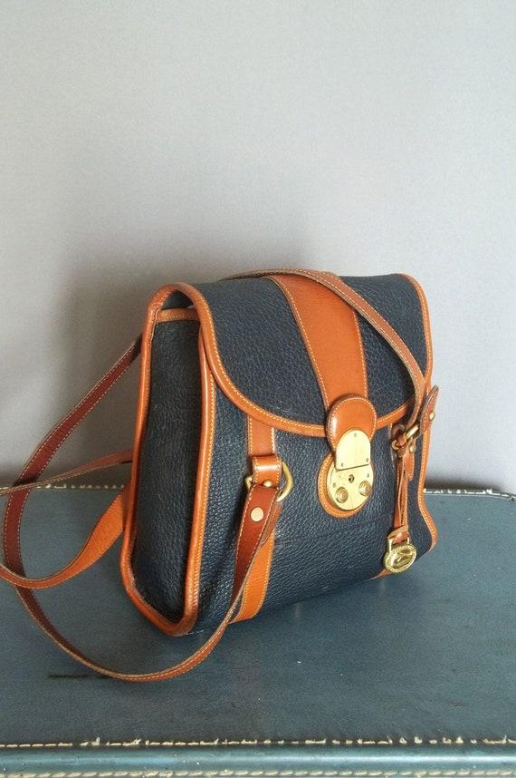 Vintage RARE Dooney and Bourke Buckle LOCK Bag.