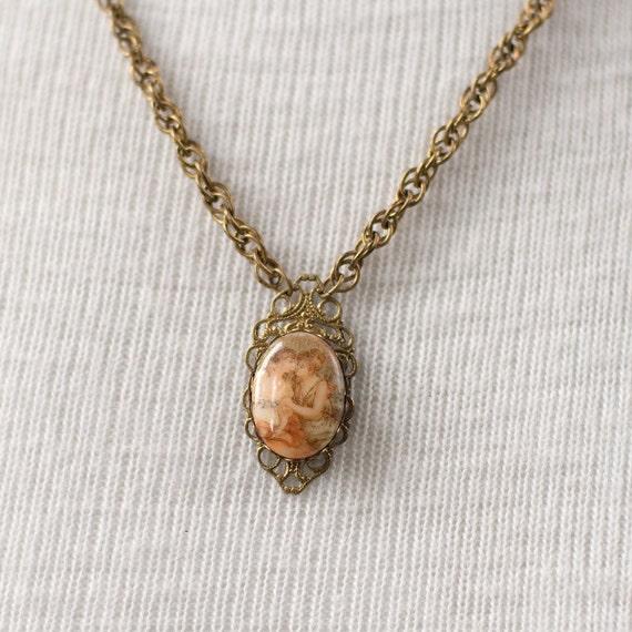 Art Deco Necklace Mother Daughter Vintage