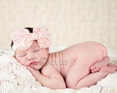BEST SELLER Sparkle chiffon big bow Baby headband, newborn headband, adult headband, child headband, photography prop ,