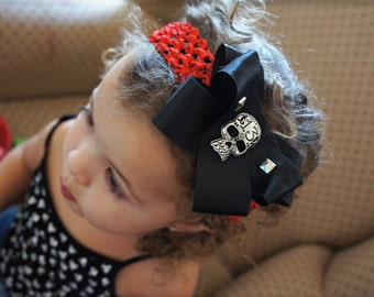 Olivia Paige - Little Sugar skull infant/HEADBANd studs