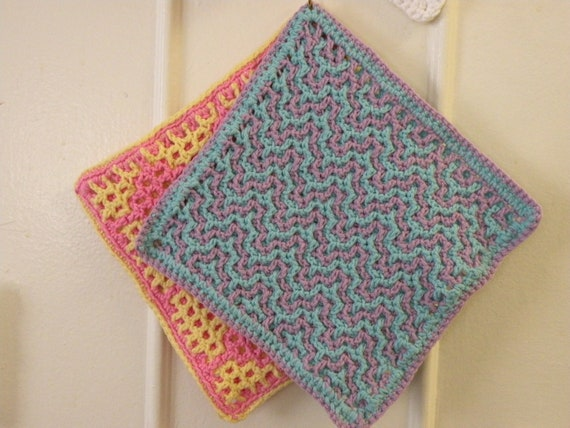 Wash cloth for charity -- Preppy Collection