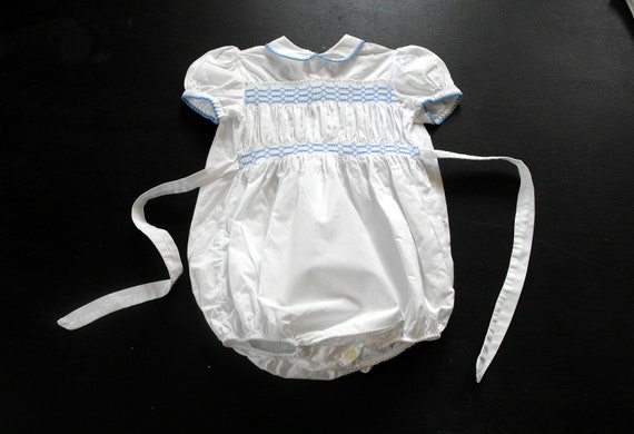 Baby Boy's Vintage French 'Bubble' suit