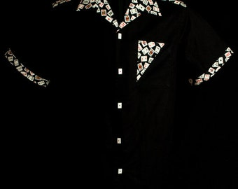 The VERY LAST Accent Aces Black extremely limited-edition ultra-high quality men's shirt