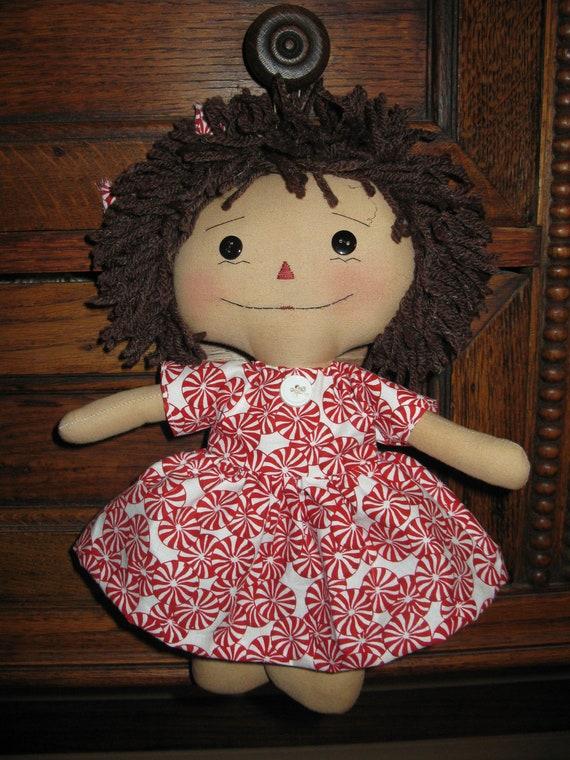 Peppermint Raggedy Ann