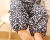 Floral Baby Pants, Harem Baby Girl Pants